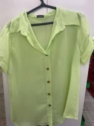 Lote blusas femininas