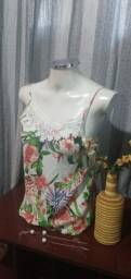 Título do anúncio: Blusa de Alcinha Estampa Floral - G