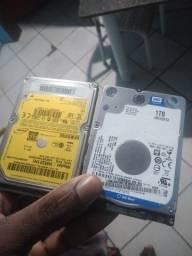 Vendo 4 HD de notebook!