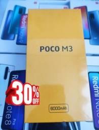 Feirão Xiaomi! POCO M3 da Xiaomi. Lacrado..Pronta entrega!