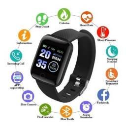 Smartwatch D13 Relógio Inteligente Preto Esporte<br><br>
