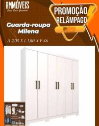 Promoção Roupeiro Milena - Entrega e Montagem Grátis