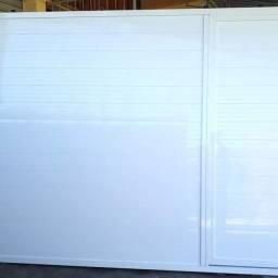 Portão de Aluminio com motor e sem