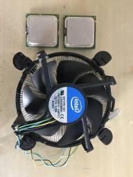 Processadores Intel Celeron D + Cooler Intel 80mm