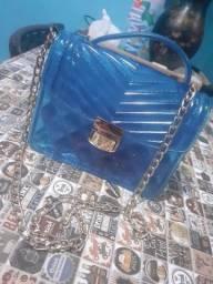 Bolsa de silicone transparente