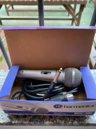 Microfone com fio de 4,5 metros