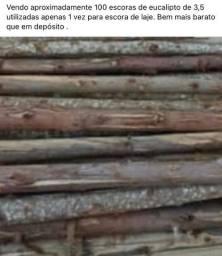 Vendo Escoras de Eucalipto 3,5 M