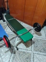 Banco de musculação da Cybex
