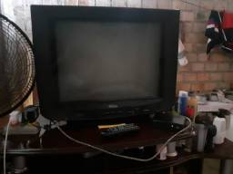 TV de 20polegadas com o conversor