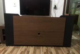 Painel e rack de tv