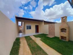 DP casa nova com 2 quartos 2 banheiros com sala 2 ambientes e garagem