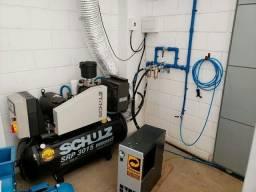 instalação e manutenção de compressores de ar comprimido reparos e instalação de rede