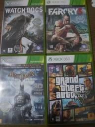 Vendo 4 jogos