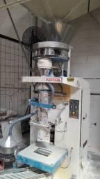 Máquina empacotar farináceos e cereais conjunto completo + compressor