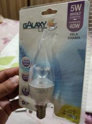 Lâmpada LED e27 Galaxy 5w bivolt vela