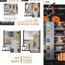 Cpt-Loft Duplex alto padrão no Centro