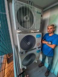 Instalação, Manutenção e Limpeza em aparelhoa de ar condicionado