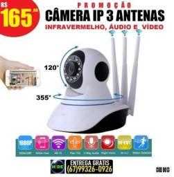 Câmeras iP com infravermelho wifi (entrega grátis)