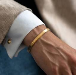 Bracelete banho de ouro