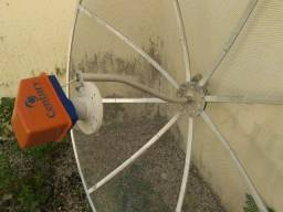 Antena parabólica e Receptor a preço de pechincha PROMOÇÃO VÁLIDA ATÉ SÁBADO AMANHÃ