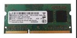 Memória RAM 4GB 1x4GB Smart DDR3L notebook
