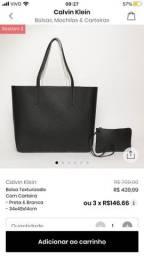 Bolsa reversivel Calvin Klein