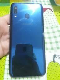 Samsung A20 azul