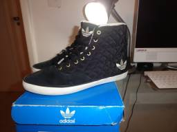 Tênis Adidas Originals Azurine MID W, Tamanho BR 34, Semi-novo, Pouco Usado, Lindo!