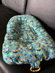Almofada para banho bebê