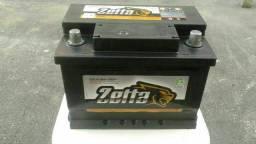 Bateria zetta 60 ah semi nova com garantia