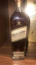 Whisky gold label