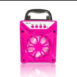 Caixa de Som SPK-01 Portátil sem Fio Bluetooth  para MP3 Player / Cartão SD