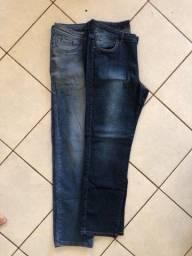 2 calças jeans masculinas por 60$