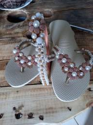 Lindos chinelos customizados