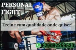 PERSONAL FIGHT- MUAY THAI E BOXE!