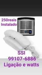 Interfone 250reais instalado concertina 13reais