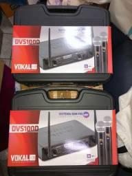 Vendo Microfone Duplo Vokal - SEM . FIO