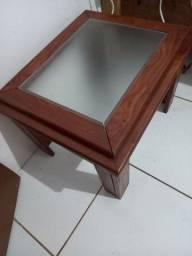 Mesinha de centro de madeira entrego se precisar