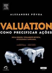"""Livro """"Valuation - Como precificar ações"""""""" - Alexandre Póvoa"""