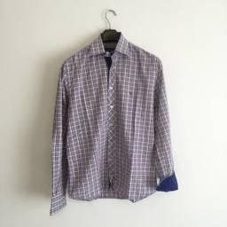 Camisa Happy tam 3 (M) xadrez