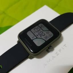 Smartwatch Xiaomi Amazfit Bip Inglês + Película