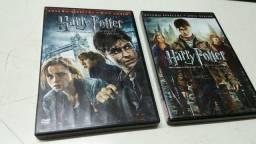 Final série HARRY POTTER parte 1 e 2. $ 30,00