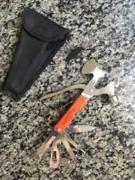 Kit machadinho canivete nunca usado