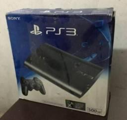 Vendo ou Troco PS3 Super Slim