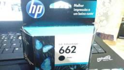 Vendo dois cartuchos HP662(NOVOS)