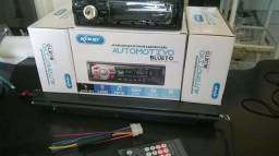 [ NOVO ] Som Automotivo com Bluetooth e Controle Remoto