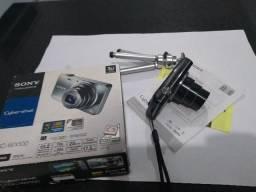 Câmera Sony Cyber-Shot WX100 Preta c/ LCD 2.7?, 18.2MP, Zoom Óptico 10x, Foto 3D e Panoram