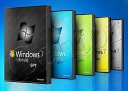 DVD Windows 7, 8.1 e 10, leia o anúncio.