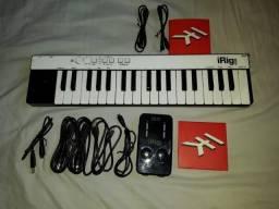 Controlador Ik Multimedia Irig Key 37 + Irig Duo