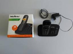 Telefone sem fio digital Intelbras TS 3130 com Secretária Eletrônica - Seminovo